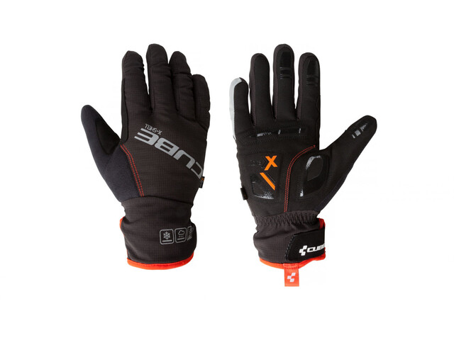 Cube Natural Fit X-Shell Gloves Longfinger red'n'black